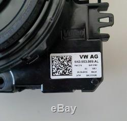 Original VW Schleifring Lenkwinkelsensor Leitungsmodul Lenkrad Tempomat Airbag