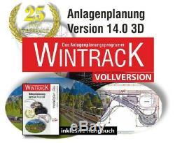 Original Wintrack Vollversion 14.0 3D inkl. Handbuch ++ Brandneu