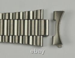 Original genuine seiko bracelet strap B1375S curved end links 19mm lugs straps