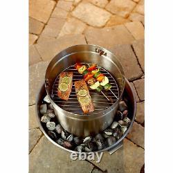 Orion Cooker OC-CKR01 Original Outdoor Convection Cooker Barbecue Smoker Fryer