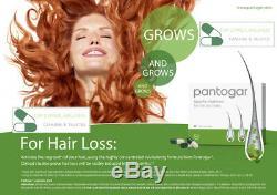 Pantogar Alopecia Pantovigar Hair loss 3 boxes x 90caps ORIGINAL cyprus wellness