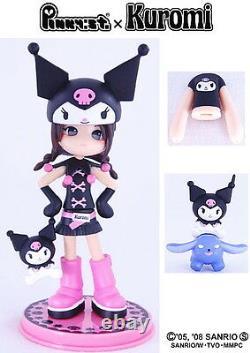 Pinky Street Pinkyst PC007 Sanrio Hello Kitty KUROMI Rei Vinyl Toy Figure Anime