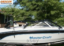 Pkg of Origin Catapult Boat Wakeboard Tower Black + Pro Tower Bimini Top