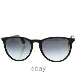 Ray Ban RB4171 Erika Sunglasses Matte Black Grey Gradient Brand New