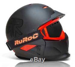 Ruroc Black RG1-X Ski/Snowboard Helmet Brand New 2014/15 Range Offer