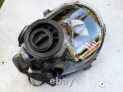 SGE 400/3 Tactical 40mm NATO Gas Mask, for NBC & Impact Protection NEW