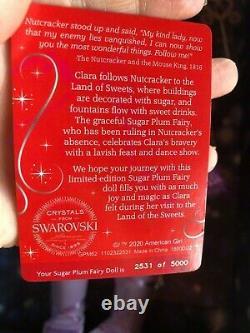 SOLD OUT! American girl sugar plum fairy BRAND NEW IN ORIGINAL BOX