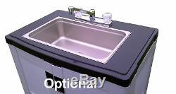 Self contained Portable Handwash Sink Hot Water original UNIVEDIS