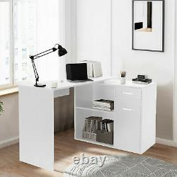 Small Spaces PC Laptop Table Modern Computer Desk Study Office Desk Home Office