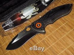 Spyderco C187CFP Peter Carey Rubicon knife DISCONTINUED BRAND NEW