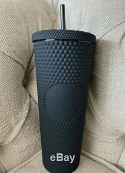 Starbucks Fall 2019 Limited Edition Studded Tumbler Cup Matte Black Brand New