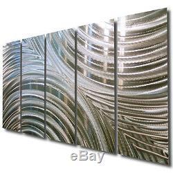 Statements2000 Handmade Silver Metal Wall Art Decor by Jon Allen Synchronicity