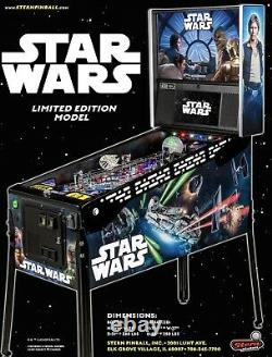 Stern Star Wars Le Limited Edition Brand New Still Sealed In Box