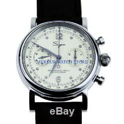 Sugess Seagull St1901Chronographase Mechanical Watch pilot 1963 venus 17