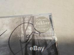 Taylor Swift Folklore Signed Copy! Autographed Cd! Brand New