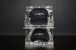 The CabBox Caprack 10-12 Baseball Cap Holder Organizer Hat Closet Storage Box