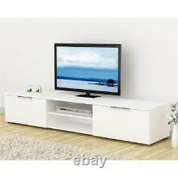 Tvilum Match 67 TV Stand in White High Gloss