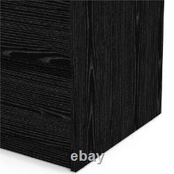 Tvilum Scottsdale 5 Drawer Chest in Black Woodgrain