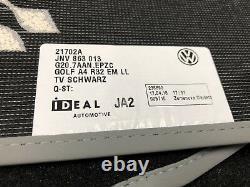 VW Golf IV, Bora, New Beetle Satz Fußmatten R32 Teppich ORIGINAL VW OEM (-196)