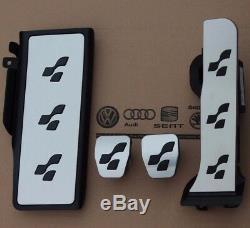 VW Passat 3C B6 B7 original R36 Pedalset CC Pedalkappen Fußstütze R-Line