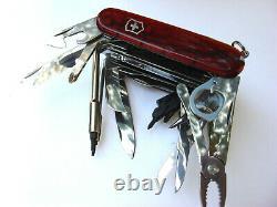 Victorinox Swiss Super Rare Army Knife, Swisschamp 1.6795 XXLT Knife Brand New