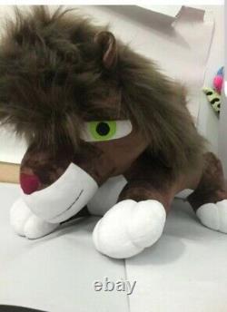 X2 Giant 30 Original Custom Made Lion Plush Animals Cub and Adult