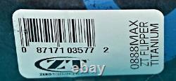 ZERO TOLERANCE ZT0888MAX #69 of 122 BRAND NEW & ULTRA RARE