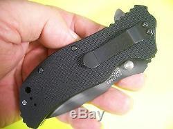 ZERO TOLERANCE usa TIGER STRIPE Spring Assist G-10 Ken Onion knife ZT 0350TSST