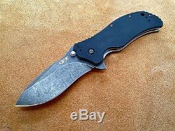 ZT0350BW Zero Tolerance Knife ZT0350 S30V Blackwash Blade G-10 Handles New
