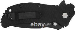 Zero Tolerance ZT-0350 Knife S30V Stainless Steel Black Tungsten DLC Finish G10